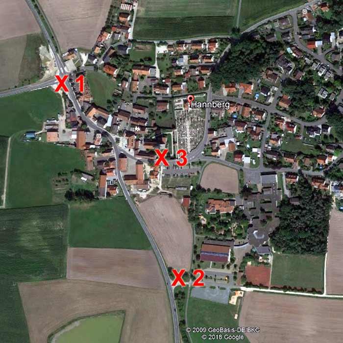 Hannberg-Orte
