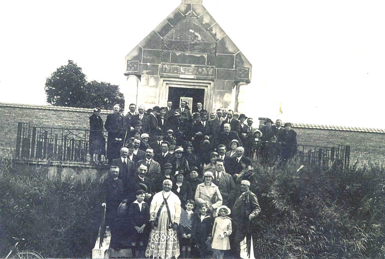 Familles et chapelle